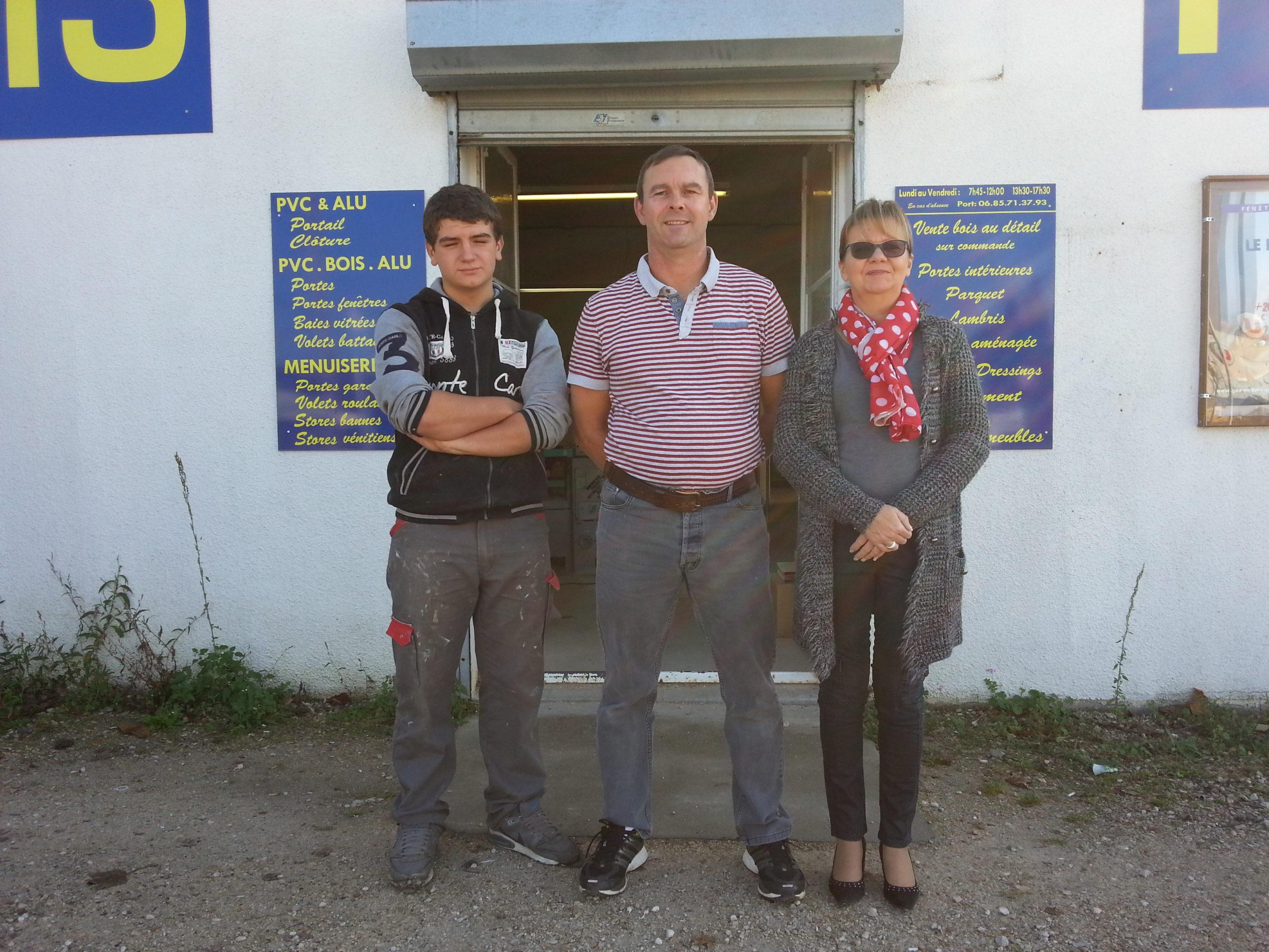 Menuiserie Girard équipe