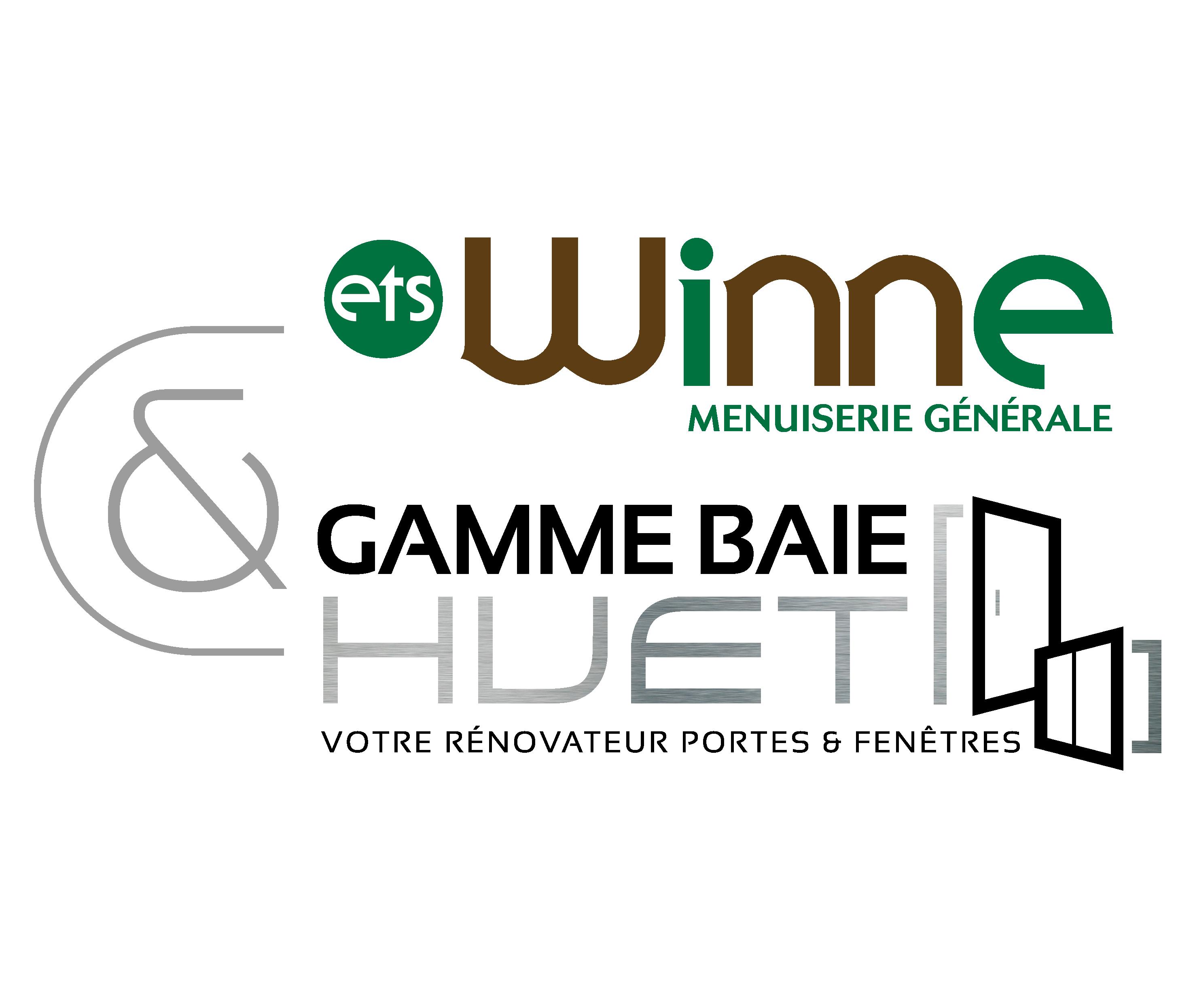 Logo Menuiserie Winne Flers en Escrebieux