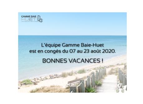 Bonnes vacances d'été 2020 GBH