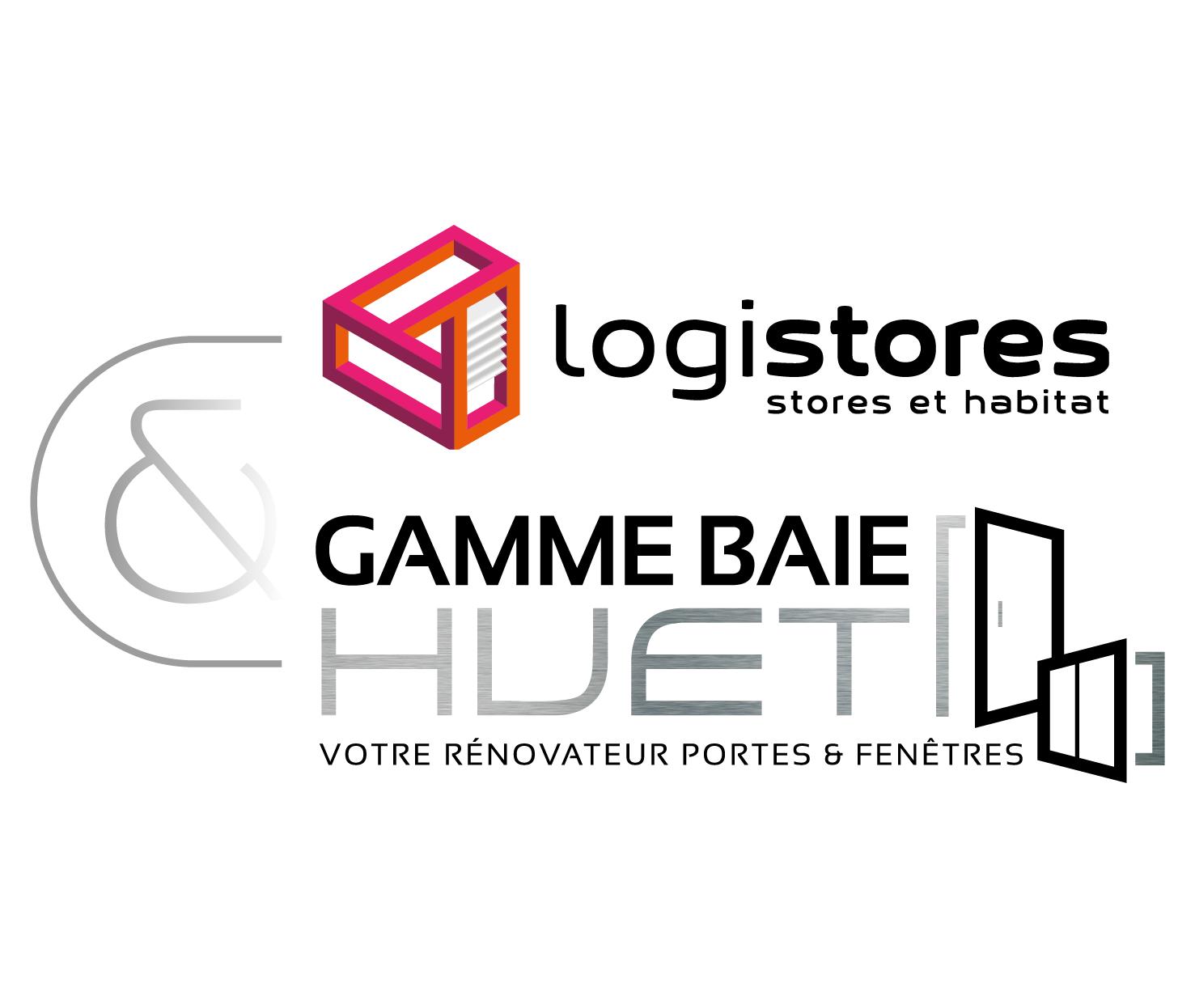 Logos Expert Logistores Gamme Baie-Huet